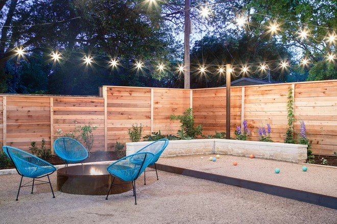 Contemporary Patio by SOMOS Design and Landscaping