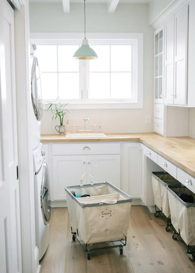 Traditional Laundry Room by Steele Canvas