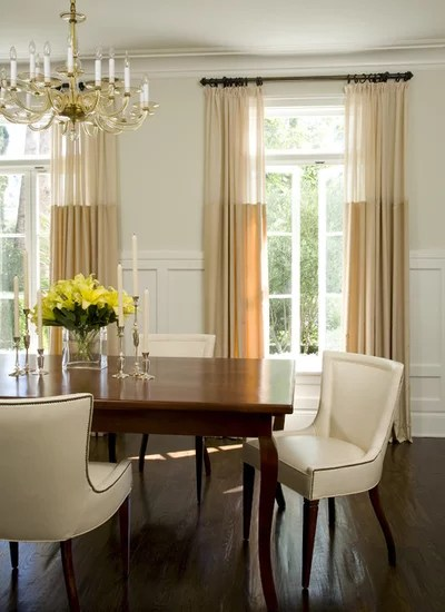 Traditional Dining Room by Studio William Hefner