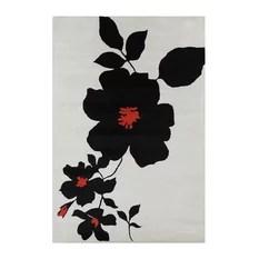 Allie Floral Contemporary Area Rug 8'x10'