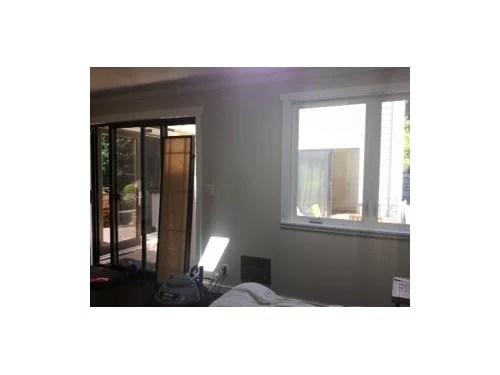 smaller window next to sliding door