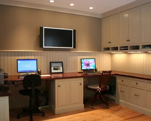 home office layout Dual Office Space Home Design Ideas, Pictures, Remodel and