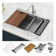 stainless steel sink protector rack houzz