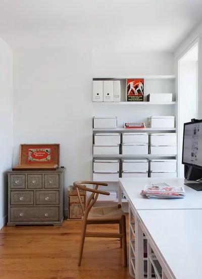 Contemporary Home Office by Bonaventura Architect