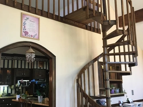 Spiral Stairs To Regular Stairs Help | Converting Spiral Staircase To Straight | Stair Case | Building Regulations | Handrail | House | Attic Stairs