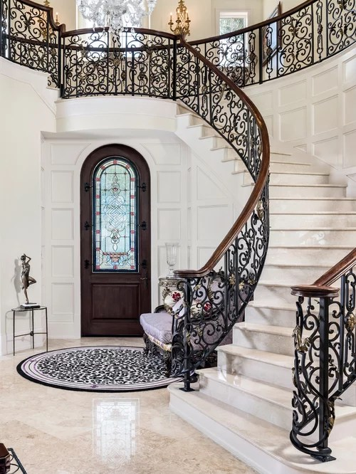 Best Mediterranean Staircase Design Ideas Amp Remodel