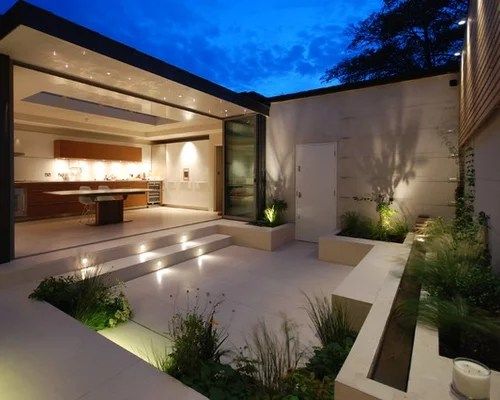 75 Most Popular Patio with Concrete Slabs Design Ideas for ... on Concrete Slab Backyard Ideas id=85902