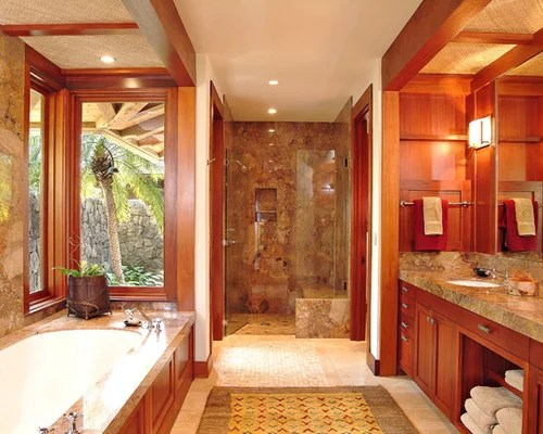 Hawaiian Bathroom Home Design Ideas, Pictures, Remodel And