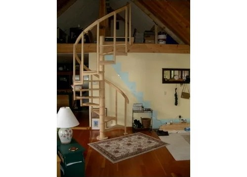 Integrate A Spiral Staircase | Spiral Staircase Into Loft | Loft Conversion | Small Spaces | Tiny House | Space Saving | Staircase Design