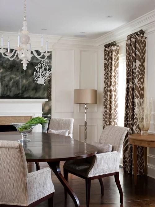 Dining Room Curtains | Houzz on Dining Room Curtain Ideas  id=73013