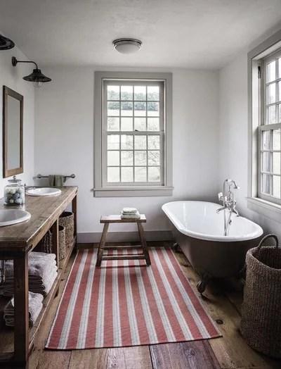 Farmhouse Bathroom by Di Biase Filkoff Architects