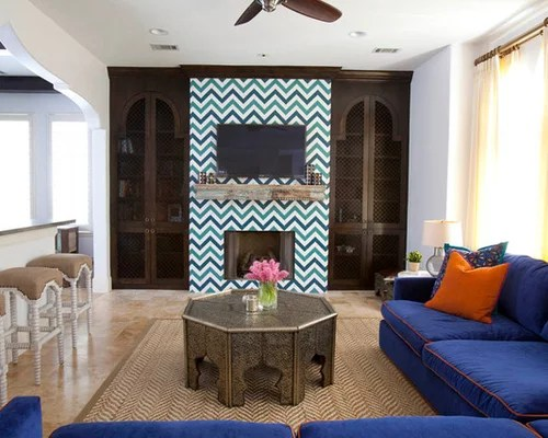 Moroccan Fireplace Ideas Pictures Remodel And Decor