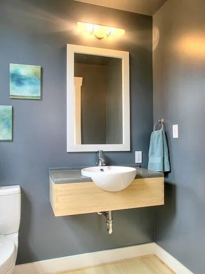 Cuarto de baño clásico del servicio por Neiman Taber Arquitectos