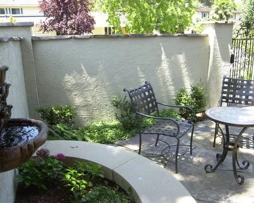 Front Yard Courtyard Home Design Ideas Pictures Remodel