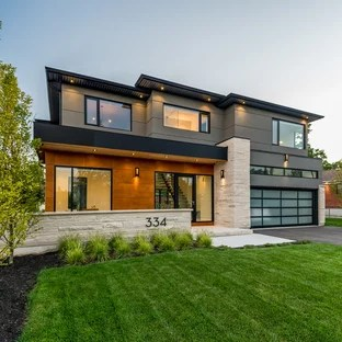 75 Most Popular Toronto Exterior Home Design Ideas for ... on Modern House Siding Ideas  id=78490