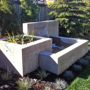 Modern Water Feature | Houzz on Modern Backyard Water Feature id=18103