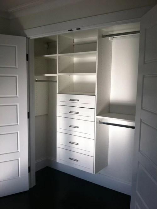 Melamine Closet Houzz