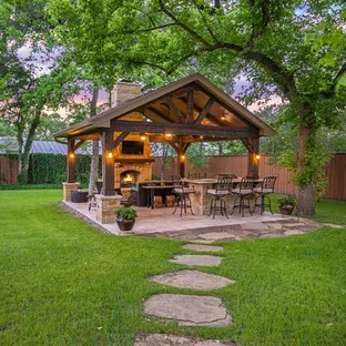 75 Beautiful Patio Pictures & Ideas - August, 2020 | Houzz on L Shaped Patio Ideas id=34604