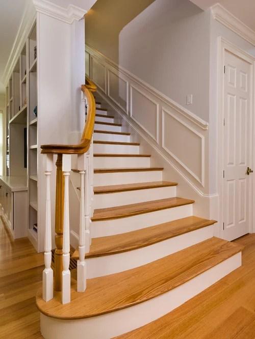 Custom Wooden Stair Treads And Risers   Custom Oak Stair Treads