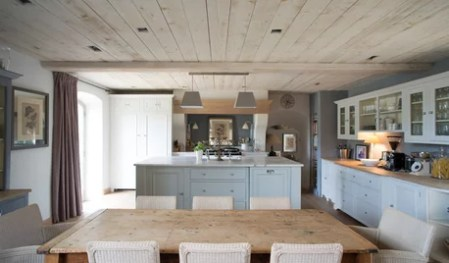 Where is the home and decorating conversation side BARN HOMESHouzz Tour  An English Barn Conversion with Proven    al Appeal