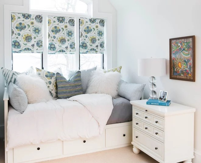 Transitional Bedroom by Steffanie Gareau Design