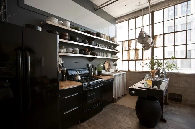 Industrial Kitchen by Chris A Dorsey Photography