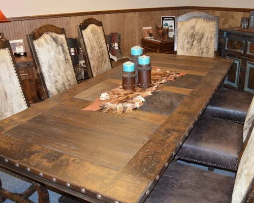 Western Hacienda Dining Room Set