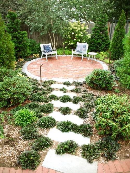 Small Backyard Patio Ideas Home Design Ideas, Pictures ... on Small Backyard Brick Patio Ideas id=57451