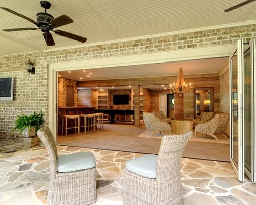 Walk Out Basement Patio Home Design Ideas, Pictures ... on Walkout Basement Patio Designs id=96258