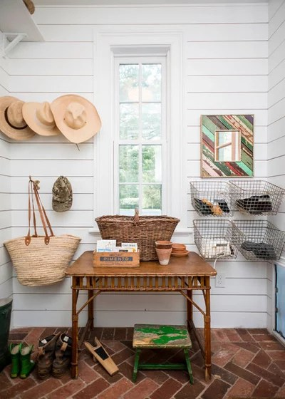 Farmhouse Entry by Alys Design