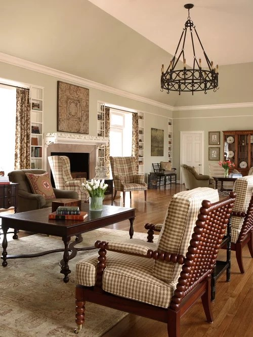 Wing Chairs Living Room
