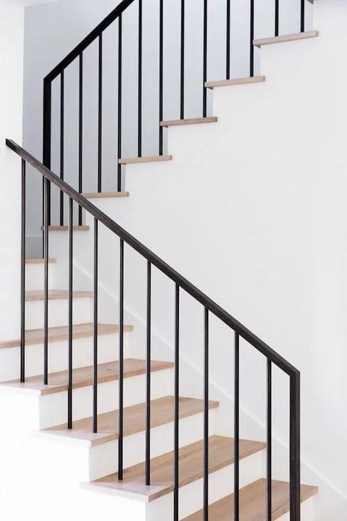 Modern Stair Railing Diy Help | Modern Stair Hand Railing | Creative Outdoor Stair | Wooden Stair | Decorative | Curved Metal | Diy Modern