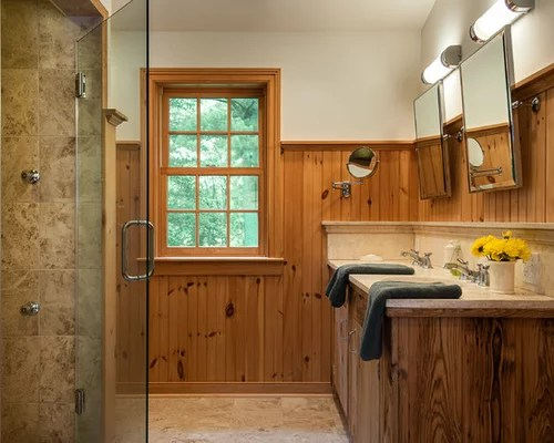 Pine Wainscoting Home Design Ideas Pictures Remodel And