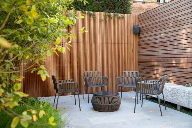 Contemporary Patio by Inspired Dwellings