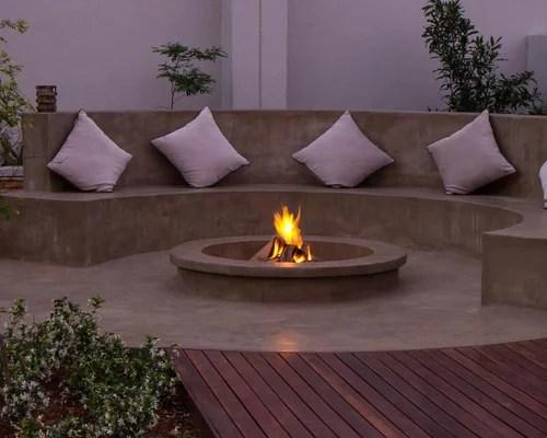 Concrete Seating | Houzz on Modern Boma Ideas  id=24887