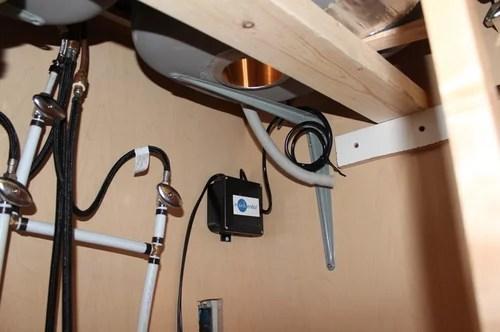 undermount sink support