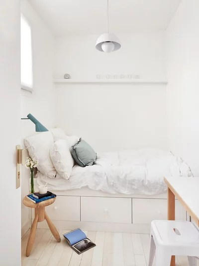 Scandinavian Bedroom by A+B KASHA Designs