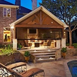 75 Beautiful Patio Pictures & Ideas   Houzz on Houzz Backyard Patios  id=45176