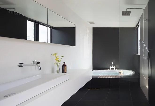 Contemporary Bathroom by 大石和彦建築アトリエ