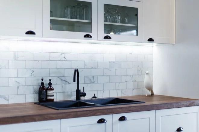 Transitional Kitchen by GJ Gardner Homes Sydney North