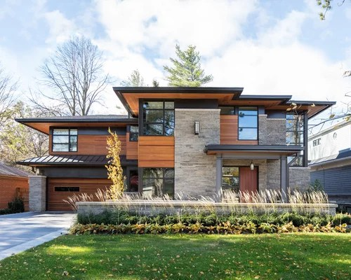Best Mixed Siding Exterior Home Design Ideas & Remodel ... on Modern House Siding Ideas  id=68567