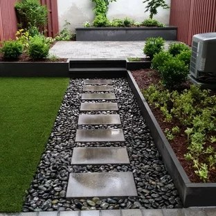 75 Beautiful Small Patio Pictures & Ideas - August, 2020 ... on Small Backyard Stone Patio Ideas id=83809