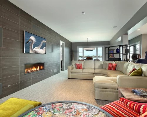 Tile Fireplace Wall Ideas Pictures Remodel And Decor