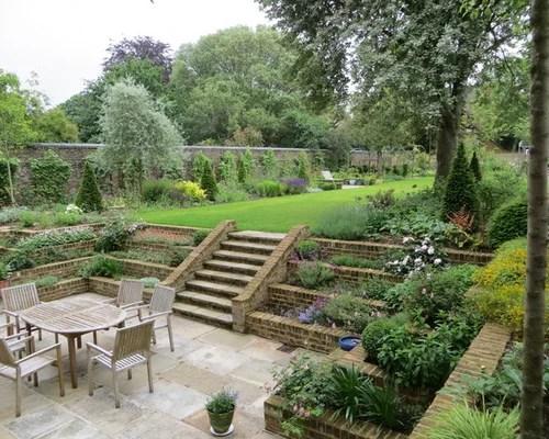 Tiered Garden | Houzz on Tiered Yard Ideas  id=55525