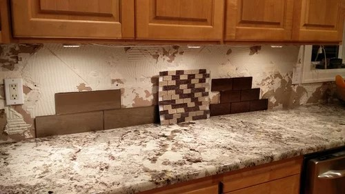need backsplash help for alaksa white granite & maple cabinets on Backsplash For Maple Cabinets And Black Granite  id=31338