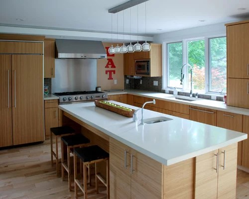 White Countertops | Houzz on Maple Cabinets With White Countertops  id=72876