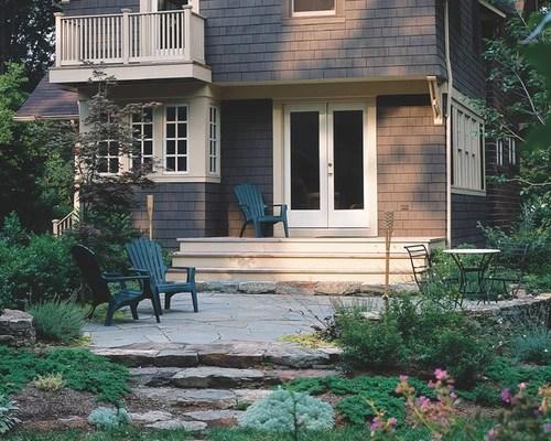 Deck To Patio   Houzz on Houzz Backyard Patios  id=24164