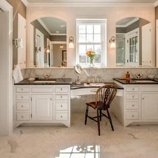 Black White Grey Granite Countertops Bathroom Ideas | Houzz on Bathroom Ideas With Black Granite Countertops  id=96985