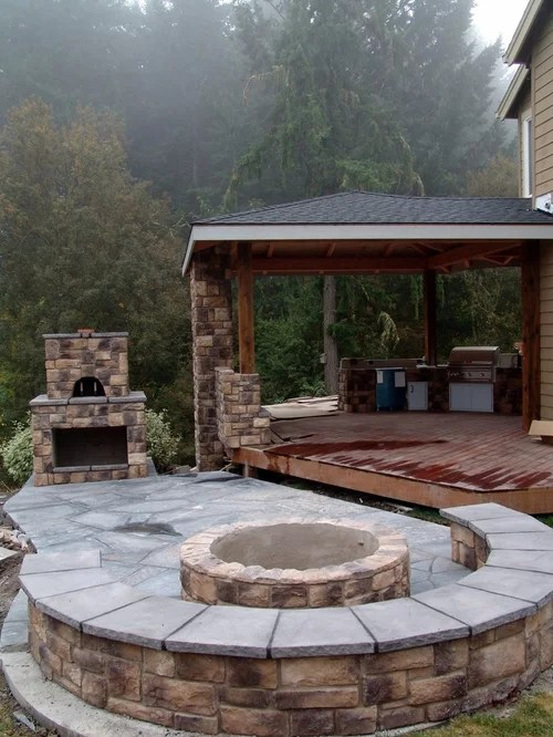 Pizza Oven Firepit Home Design Ideas Pictures Remodel