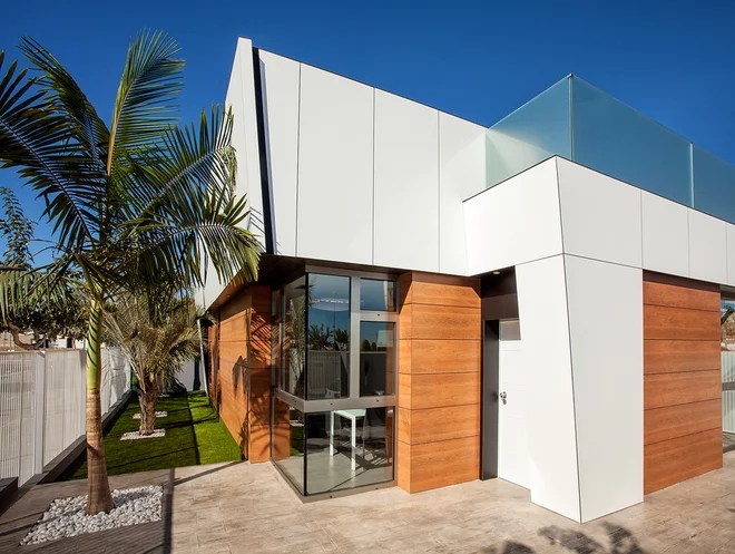 Contemporáneo Fachada by GenneoArquitectura